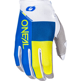 ONeal Mayhem Gloves SPLIT blue/yellow